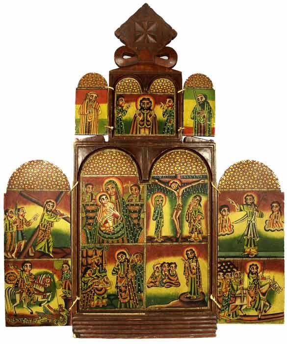 ethnic and tribal folk art