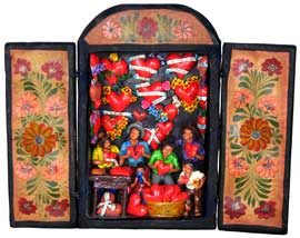 House of Hearts Retablo