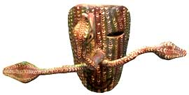 Mexican Snake Mask