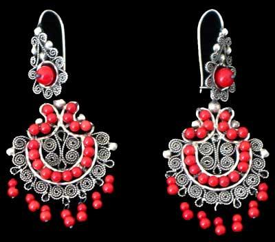Mexican C Chandelier Earrings