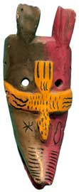 Mexican Coyote Mask