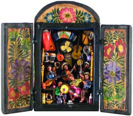 Musical Instrument Workshop Retablo