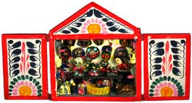 Mask Maker Retablo