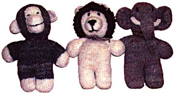 Handknitted Stuffed Animals