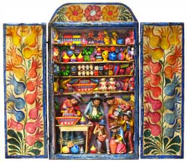 Toy Shop Retablo