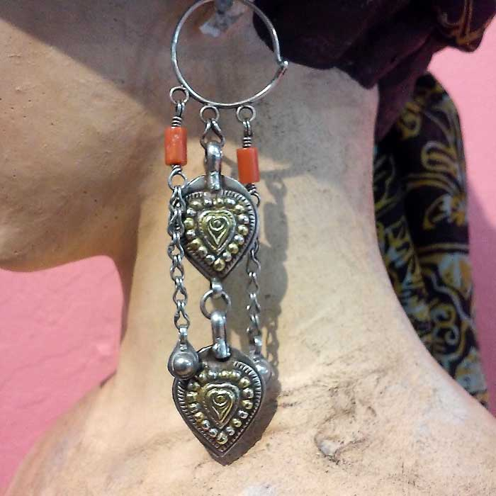 Tribal, Ethnic and Old Silver Jewelry